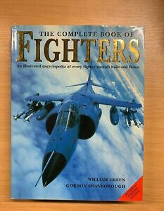 """LARGE HEAVY 2004 """"THE COMPLETE BOOK OF FIGHTERS"""" AIRCRAFT HARDBACK BOOK (XX)"""