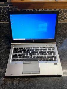 HP EliteBook 8470p i7 3.0GHZ 8GB RAM 256GB SSD HD Webcam Win10 Pro 64Bit