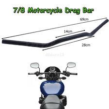"7/8"" Motorcycle Euro Tracker Drag Bars Handlebars For Honda Suzuki Yamaha Harley"