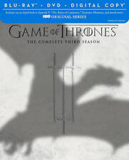 Game of Thrones: The Complete Third Season (Blu-ray/DVD, 2014, 7-Disc Set,