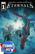 ETERNALS #1 (2021) 1ST PRINTING RIBIC MAIN COVER MARVEL COMICS ($4.99)