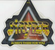 Stryper - Shaped Pic Disc - Always There For You -1988 Enigma Records ENVS1-MINT