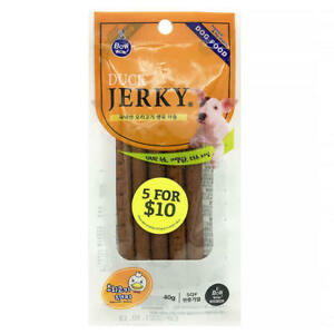 Bow Wow Duck Jerky 40g FREE SHIPPING WORLD WIDE