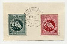 DR 900-1 auf Briefstück Stempel Luxemburg-Strassen