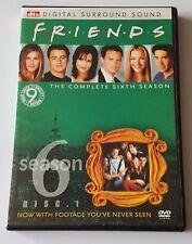 FRIENDS SEASON 6 DVD 4-DISC SET