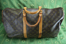 Original louis vuitton keepall 50 valija Weekender/número de serie: SD 822