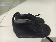 New Unwanted Baby Boys Christening Handmade Leather Shoes Size 5