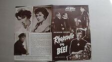 M29 Filmprogramm IFB 4869 Rhapsodie in Blei - EDDIE CONSTANTINE