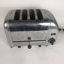 Dualit 4 Slice Toaster Stainless Steel Chrome Model 40198/84 - Tested