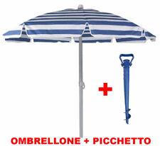OMBRELLONE MARE SPIAGGIA PISCINA CON CUSTODIA D 165 + PICCHETTO FORATERRA 27590/