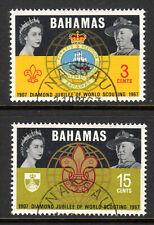 Bahamas - 1967 50 years Scouting - Mi. 272-73 VFU