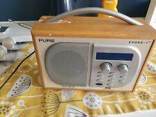 Digital Radio Pure Evoke-1XT DAB Radio Used Working Music Kitchen Timer