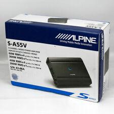 ALPINE S-A55V S-SERIES 5-CHANNEL 540W CLASS-D CAR AUDIO AMPLIFIER AMP SA55V A55V