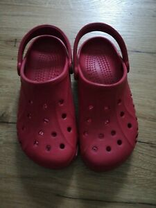 Crocs Gr. 40 - Rot, Neu, Ungetragen - M7, W9 - Hausschuh, Gartenschuhe