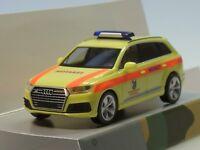 """Herpa Audi Q7 """"Rettungszentrum Bundeswehr Hannover"""", Notarzt - 700672 - 1:87"""