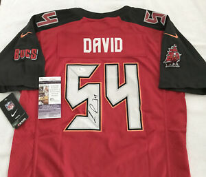 TAMPA BAY BUCCANEERS LAVONTE DAVID signed AUTHENTIC NIKE YOUTHONFIELD JERSEY JSA