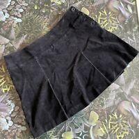 HOBBS Black Cord Skirt Size 14 | Smart CASUAL