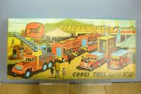 CORGI TOYS MODEL No.GS23 CHIPPERFIELD CIRCUS MODELS GIFT SET (2nd ISSUE)  VN MIB