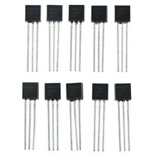 10pcs LM35DZ LM35 TO-92 nsc temperature sensor ic inductor  ~#