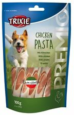 Pet Dog Treats Snack Food Chicken Pasta with Chicken & Fish - 100 g by TRIXIE