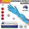 100pcs Premium Disposable Nitrile Gloves Latex & Powder Free Medical/Food Grade