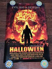 ROB ZOMBIE HALLOWEEN 27X40 DS MOVIE POSTER ONE SHEET NEW AUTHENTIC RARE