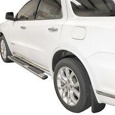 Fits Dodge Durango Mud Flaps 2011-20 Mud Guards Splash Molded 4 Piece Front Rear