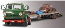 Lindberg Dodge L-700 Truck Trailer with 1940 Ford # 73068 NIB