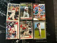 Mookie Betts 6 Card Lot No Dupes Red Sox Dodgers