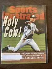 Sports Illustrated- Oct. 21,1996! Holy Cow!! Derek Jeter Lead the Yankees!!