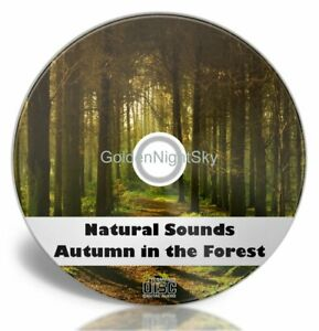 Natural Sounds of Nature CD - Autumn In The Forest - relaxing healing calming
