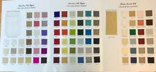 NEW HANDLOOM SILK DUPION + DELUXE SMOOTH SILK  SHADE CARD FOR £9.99