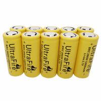 1-10PCS 26650 Li-ion Battery 12800mAh 3.7V Rechargeable for LED Flashlight Torch