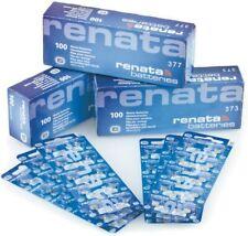 Renata Watch Batteries - All Sizes - 377 364 371 395 370 321 CR 2032 2025 2450
