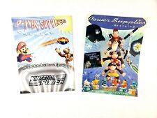 Nintendo Power Super Supplies Catalog Summer/Fall 2000 & 2001 - Rare - Free Ship