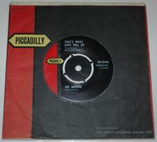 JOE BROWN & THE BRUVVERS - THAT'S WHAT LOVE WILL DO, 1963 PICCADILLY 35106, EX