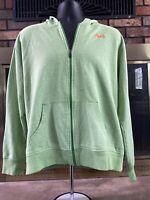 VINTAGE Nike 6.0 Full Zip Hoodie Mens Size XL Green Hooded Zip Up Sweater Jacket