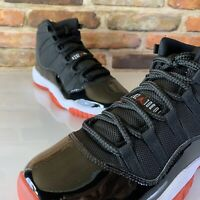 Nike Air Jordan 11 Retro GS BRED Youth Size - 5 , Womens - 6.5 Shoes Black Red