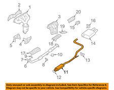 NISSAN OEM 02-06 Altima 2.5L-L4 Exhaust-Intermediate Pipe 203009J410