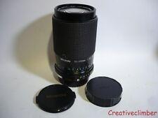 Miranda 70-210mm f4.5-5.6 Macro Zoom Lens - Olympus OM Mount + Caps