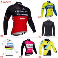 2021 Team Cycling Mens Jersey Bike Race MTB Road Pro Cycle Shirt Tops Clothing