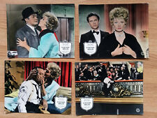 Bob Hope CRITIC's CHOICE Lucille Ball - 4 vintage German lobby cards  1963