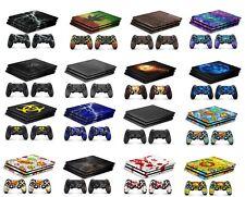 PS4 Pro Playstation 4 Skin Aufkleber Schutzfolie Konsole Controller Sticker Wrap