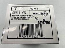 Leviton 6371-I Heavy Duty 220V X10 Wall Switch