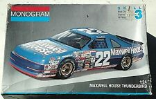 Nascar Sterling Marlin Maxwell House Ford 1/24 scale model kit