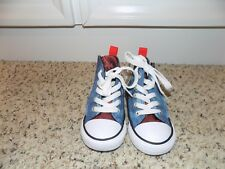 Converse All Star Simple Step Hi Oxygen Blue Toddler Shoes in Size 5-EUC