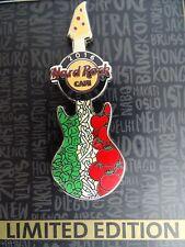 Hard Rock Cafe Rome Pin Spaghetti Guitar 2016