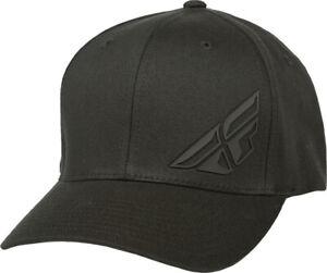 FLY F-WING HAT BLACK LG/XL