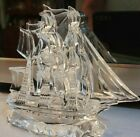 WATERFORD CRYSTAL SAILING  SHIP FIGURE