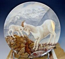 Knowles Goats A Gentle Persuasion Signs of Love Yin-Rei Hicks Plate C.O.A.
